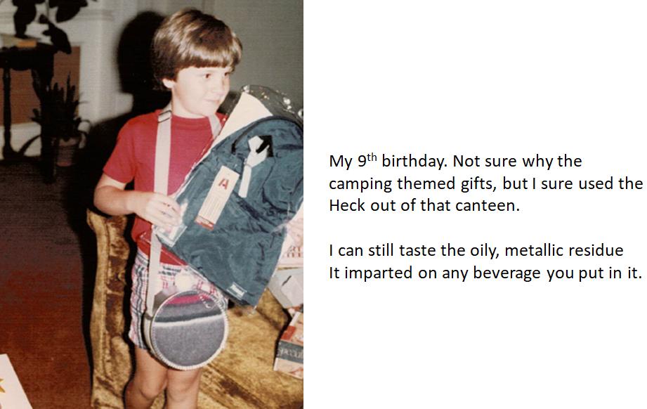 Chris Camping Birthday